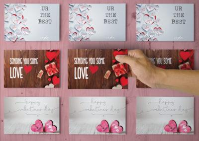 Plexus-Valentine-Postcards